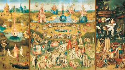 The garden of earthly delights (9000 stukjes)
