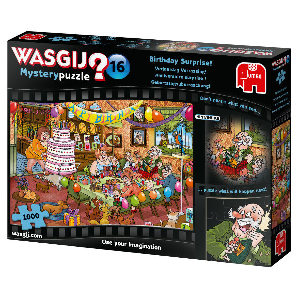 Wasgij Mystery 16: Birthday Surprise! (1000 stukjes)