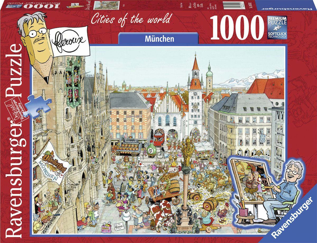 Fleroux: Cities of the World - München (1000 stukjes)