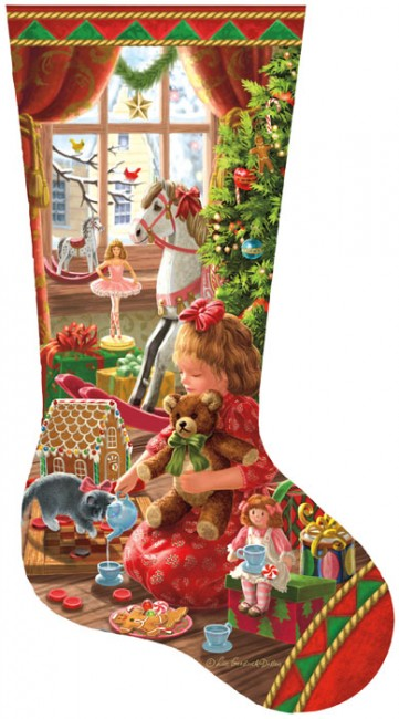 97111 - A Girl's Stocking