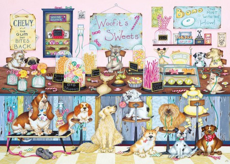 Crazy Cats - Woofits Sweet Shop (1000 stukjes)