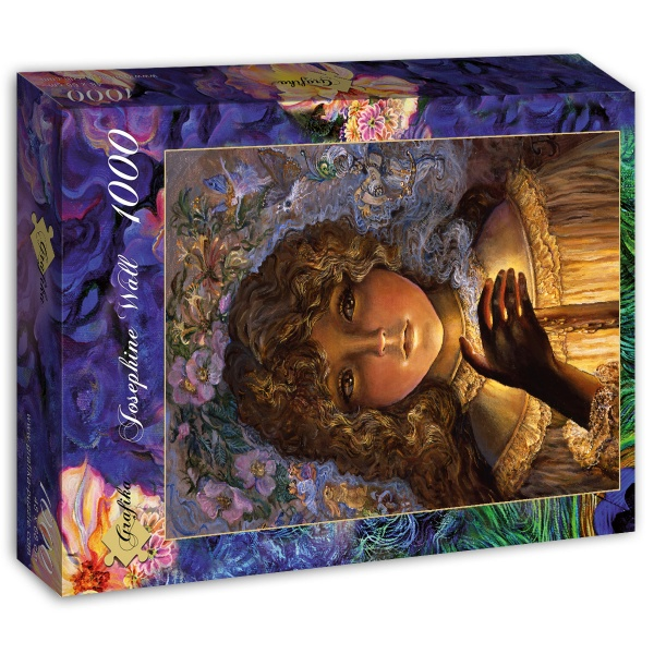 Josephine Wall - Dreaming by Candlelight (1000 stukjes)