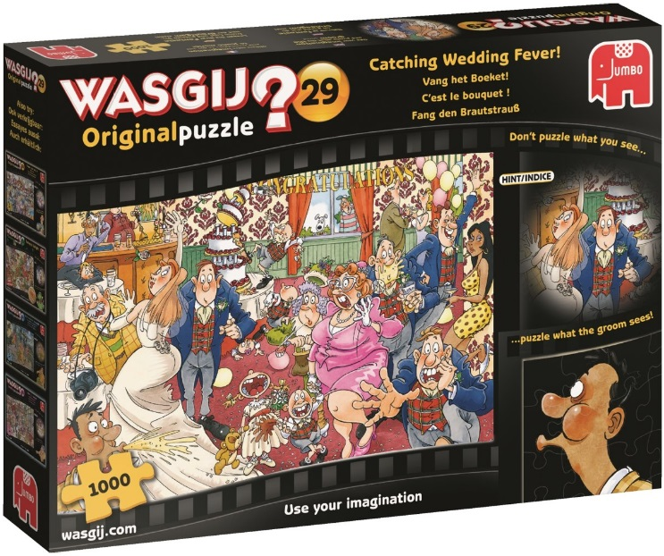 Wasgij Original 29: Catching Wedding Fever! (1000 stukjes)