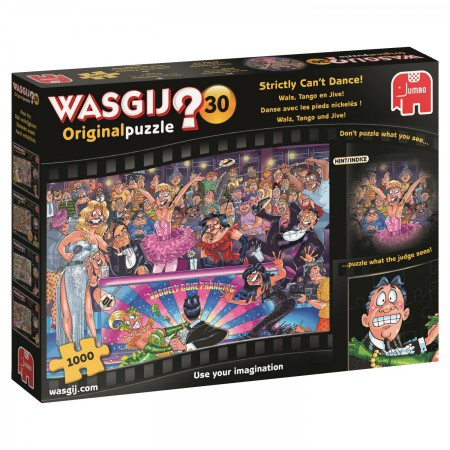 Wasgij Original 30: Strictly can't dance! (1000 stukjes)