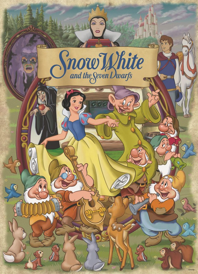 Classic Collection: Disney Snow White (1000 stukjes)