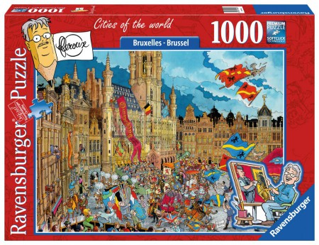 Fleroux: Cities of the World - Brussel (1000 stukjes)