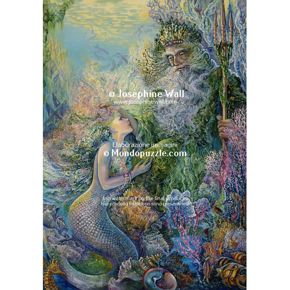 Josephine Wall - My Saviour of the Seas (2000 stukjes)