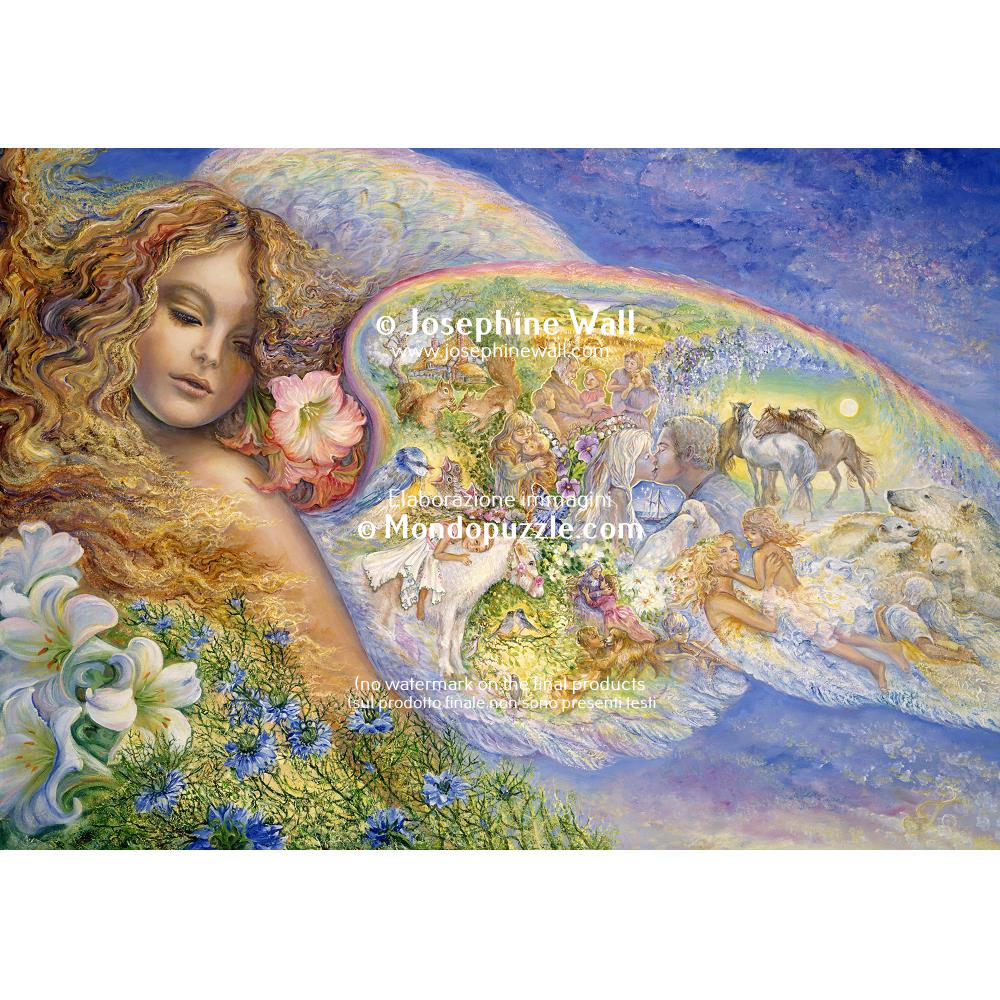 Josephine Wall - Wings of Love (2000 stukjes)