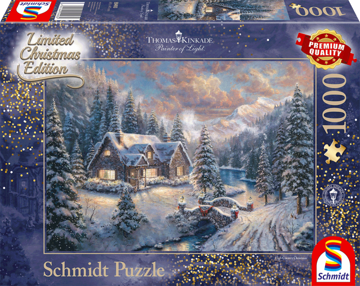 Thomas Kinkade - High Country Christmas (1000 stukjes)