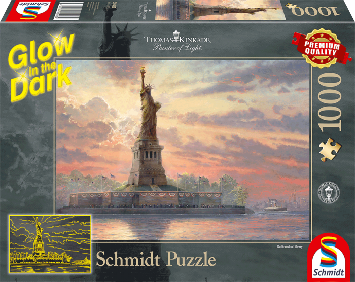 Thomas Kinkade - Dedicated to Liberty (1000 stukjes)