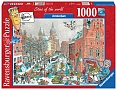 Fleroux: Cities of the World - Amsterdam in de winter (1000 stuk