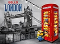 Minions Bello London (1000 stukjes, metallic)