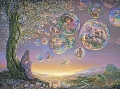 Josephine Wall - Bubble Tree (1000 stukjes)