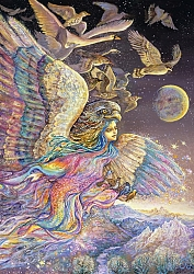 Josephine Wall - Ariels Flight (2000 stukjes)