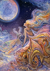 Josephine Wall - Fly me to the moon (1000 stukjes)