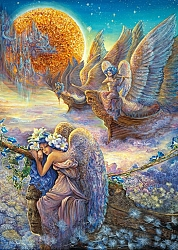 Josephine Wall - I saw three ships (2000 stukjes)