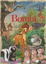 Classic Collection: Bambi (1000 stukjes)