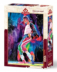 Michael Jackson's Moonwalk (1000 stukjes)