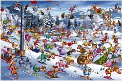 Ruyer - Christmas Skiing (1000 stukjes)