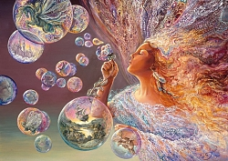 Josephine Wall - Bubble Flower (2000 stukjes)