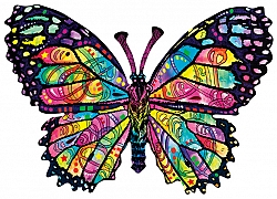 97260 - Stained glass butterfly
