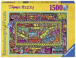 James Rizzi - We are on our way to your party (1500 stukjes)