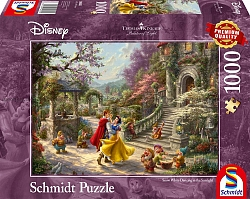 Thomas Kinkade - Snow White Dancing in the Sunlight (1000 stukje