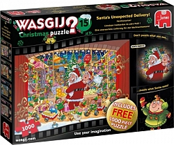 Wasgij Christmas 15: Santa's Unexpected Delivery! (2 x 1000 stuk