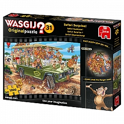 Wasgij Original 31: Safari Surprise! (1000 stukjes)