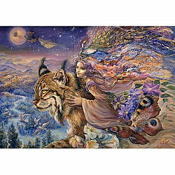Josephine Wall - Flight of the Lynx (2000 stukjes)