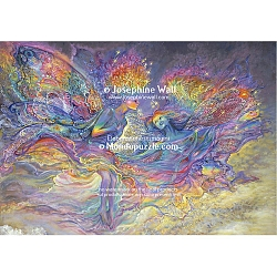 Josephine Wall - Rainbow Fairies (1000 stukjes)