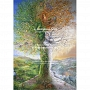 Josephine Wall - Tree of Four Seasons (1000 stukjes)